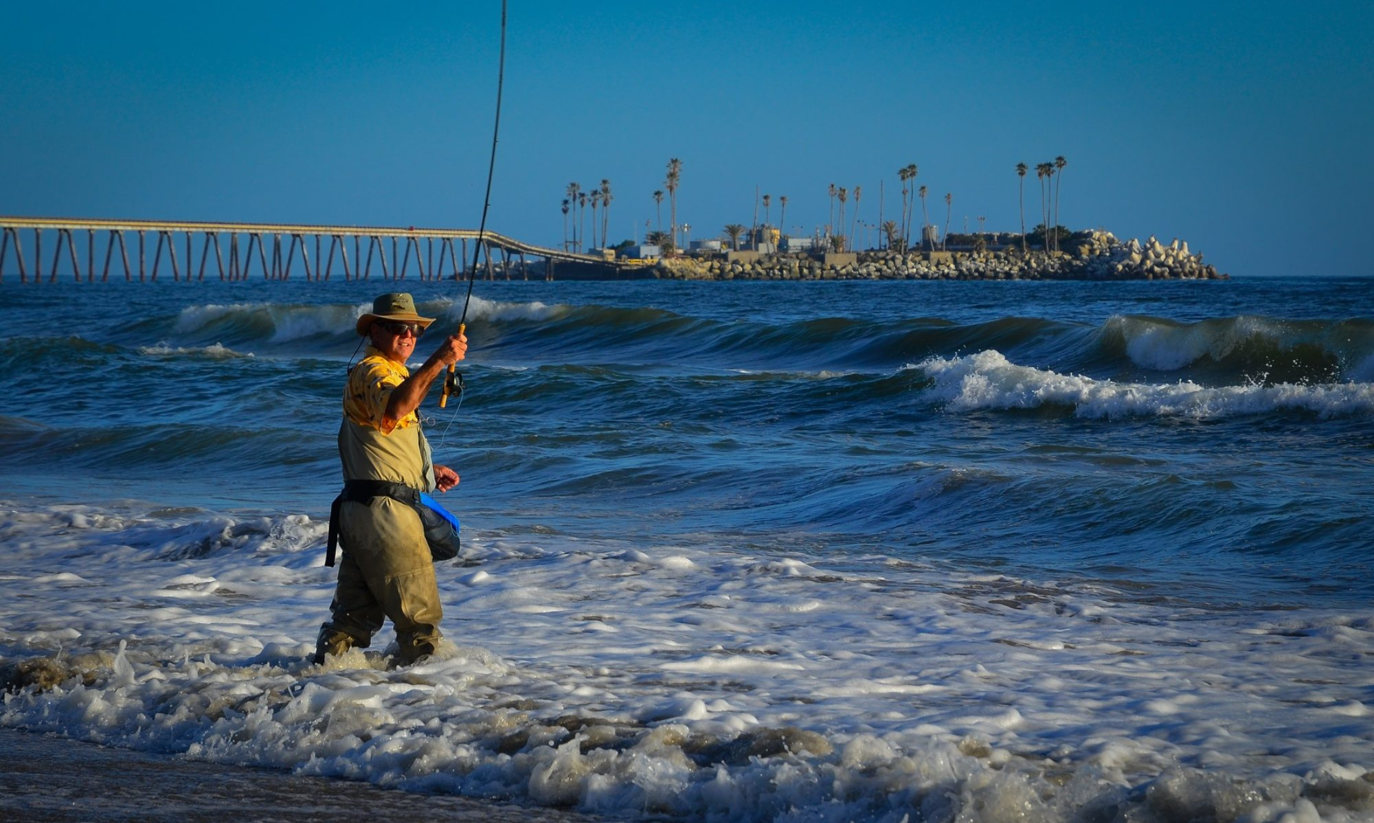 Conejo valley fly fishers fly fishing club serving the for Surf fishing southern california